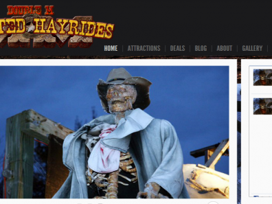 Double M Haunted Hayrides Website
