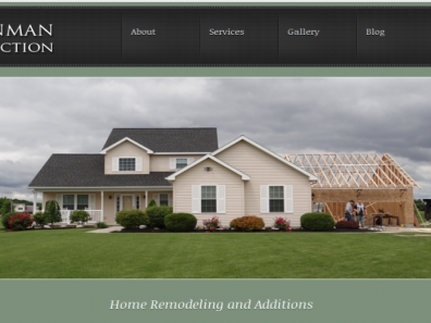 Hinman Construction Website